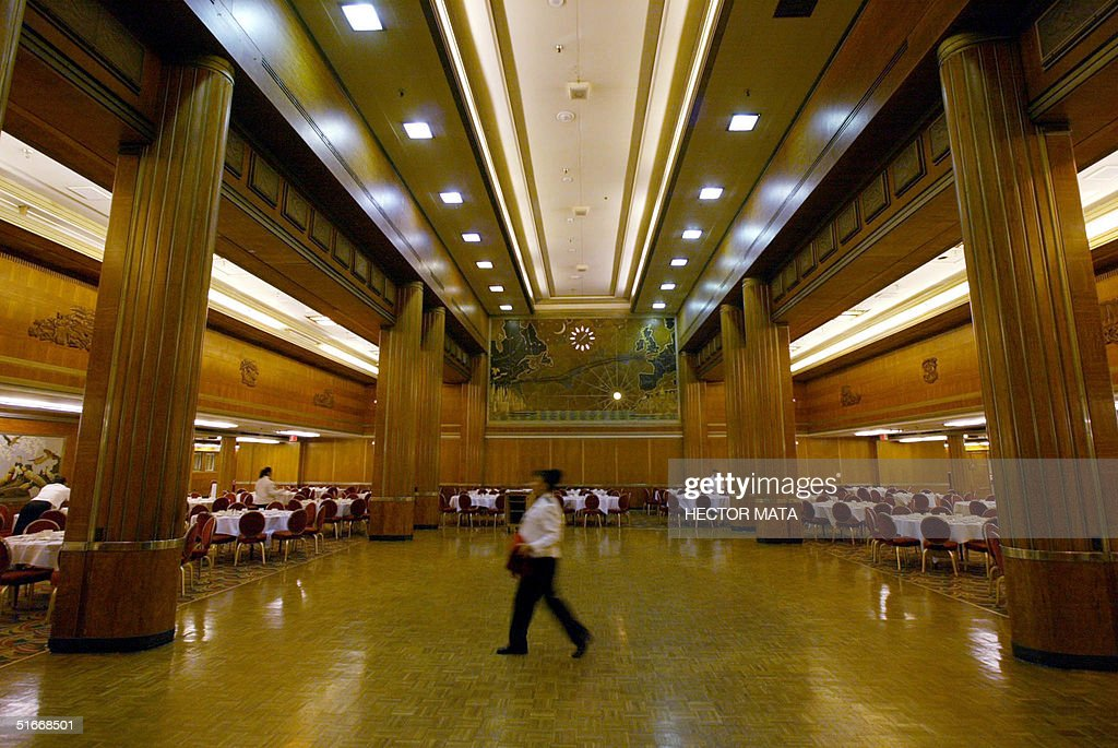 This photo shows a view of the Grand Salon on the : News Photo