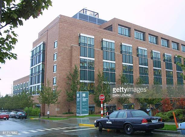 This photo taken 08 October 2001 shows the Fred Hutchinson Cancer Research Center in Seattle WA Dr Lee Hartwell the president and director of the...