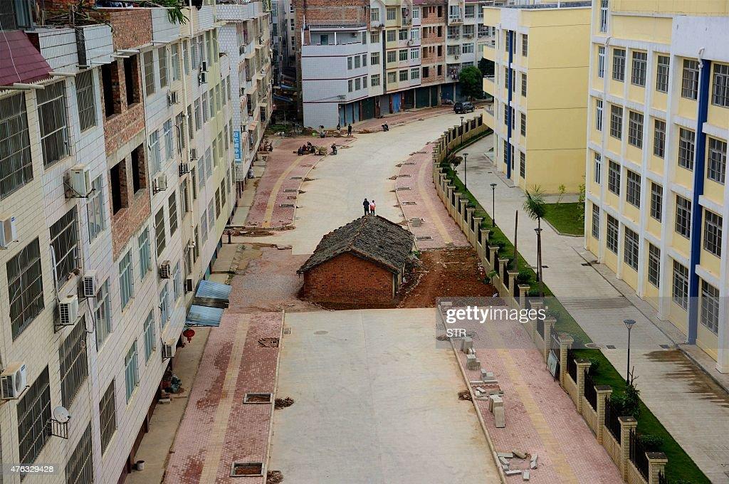 CHINA-PROPERTY-RIGHTS-SOCIETY : News Photo