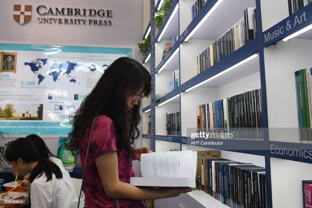 CHINA-BRITAIN-US-CENSORSHIP-EDUCATION : News Photo