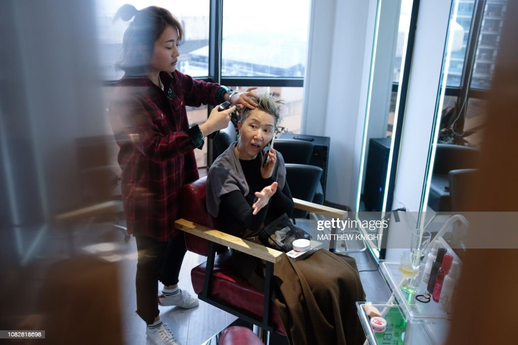 DOUNIAMAG-CHINA-FASHION-LIFESTYLE-ELDERLY : News Photo