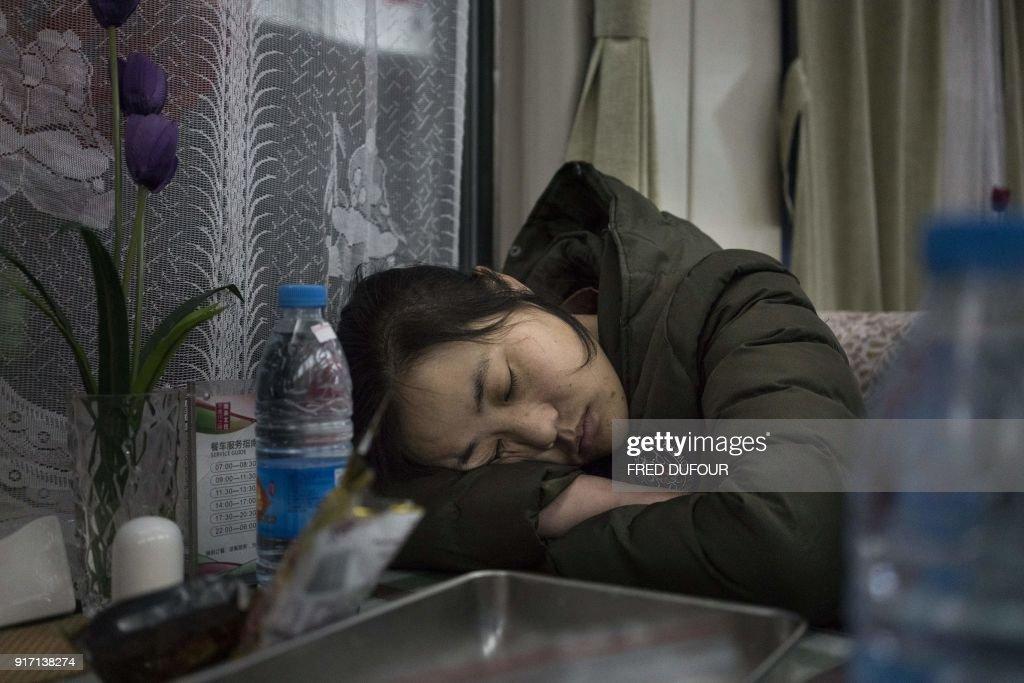 CHINA-LUNAR-NEW YEAR : News Photo