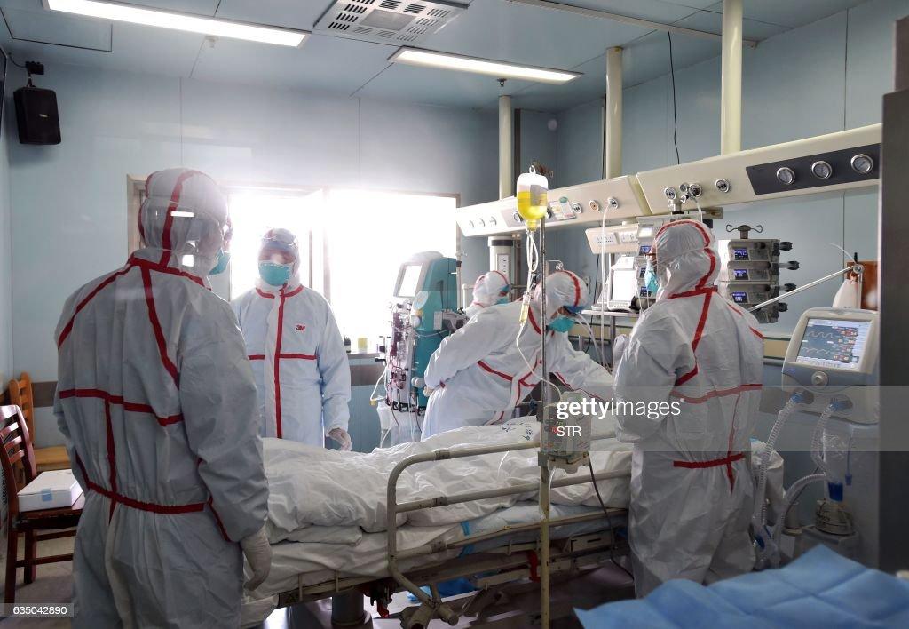 CHINA-HEALTH-FLU-H7N9 : News Photo
