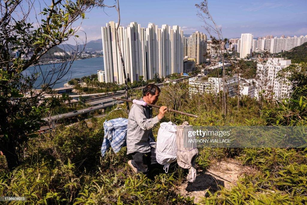 TOPSHOT-HONG KONG-LIFESTYLE-FOOD : Foto di attualità