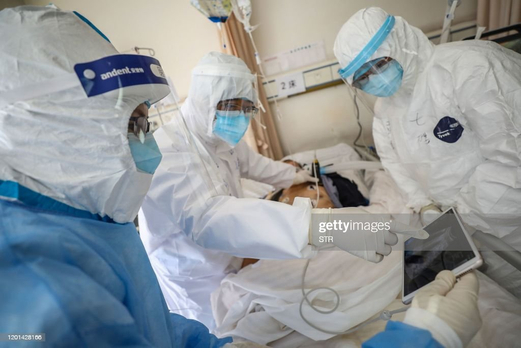 TOPSHOT-CHINA-HEALTH-VIRUS : Photo d'actualité