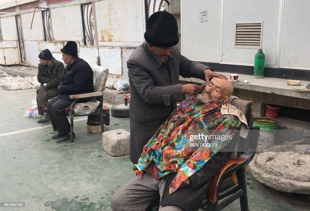 CHINA-POLITICS-RIGHTS-XINJIANG : News Photo