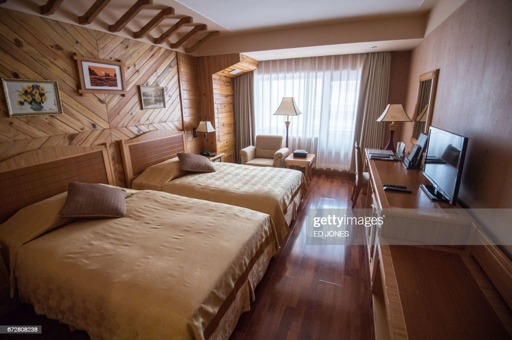 This Photo Taken On February 19 2017 Shows A Room At The Masikryong