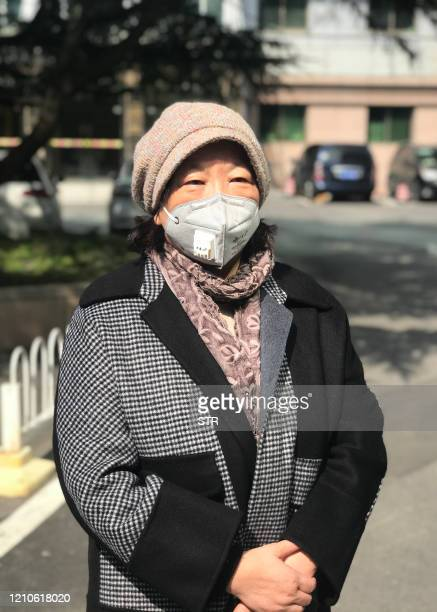 This photo taken on February 22 2020 shows Chinese writer Fang Fang speaking with media in Wuhan China's central Hubei province After Wuhan was...