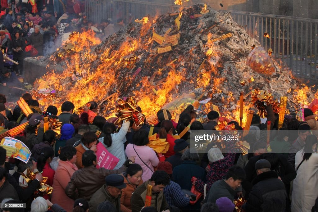 TOPSHOT-CHINA-CULTURE-ANCESTOR : News Photo