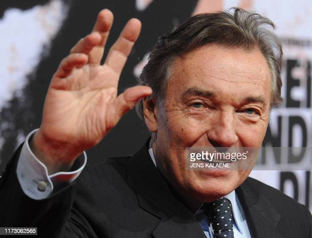 This photo taken on February 3 2010 in Berlin shows Czech pop singer Karel Gott as he arrives for a movie premiere Czech pop singer Karel Gott who...