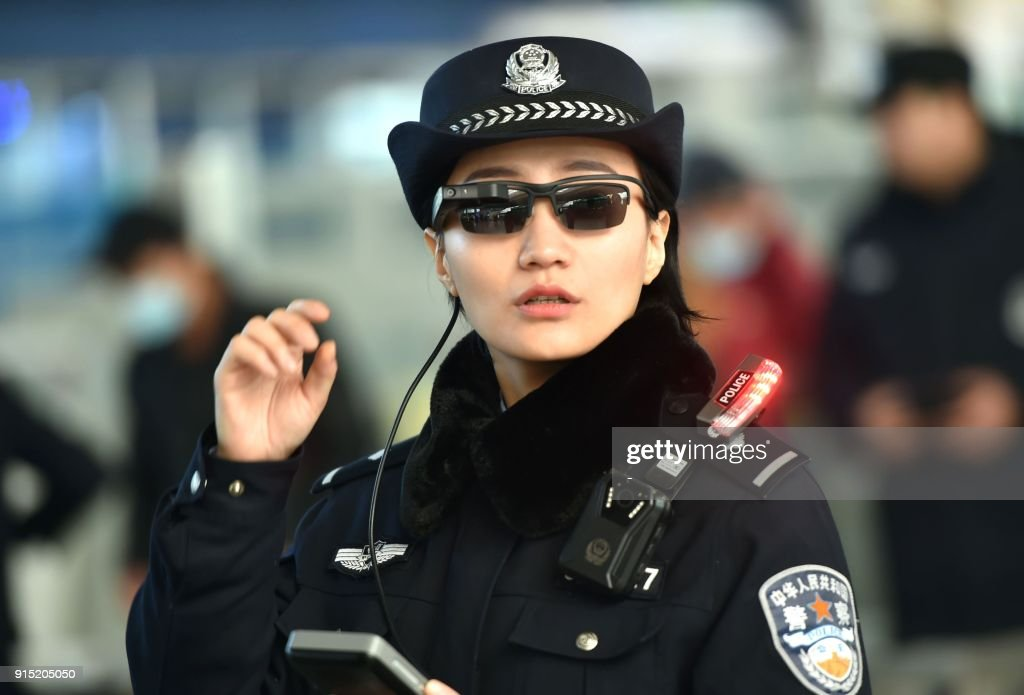 CHINA-POLICE-TECHNOLOGY : Nachrichtenfoto