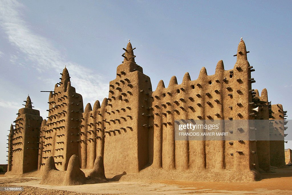MALI-UNREST-ARCHITECTURE-RELIGION : News Photo