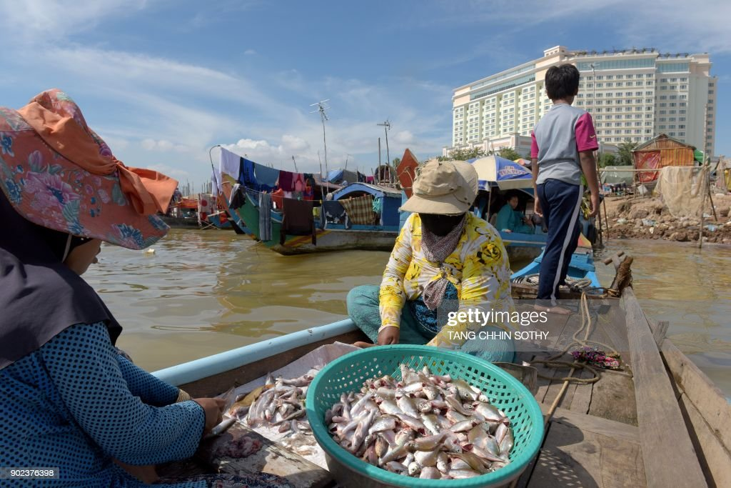 CAMBODIA-CHINA-CONSERVATION-ENVIRONMENT-MEKONG-DIPLOMACY : News Photo