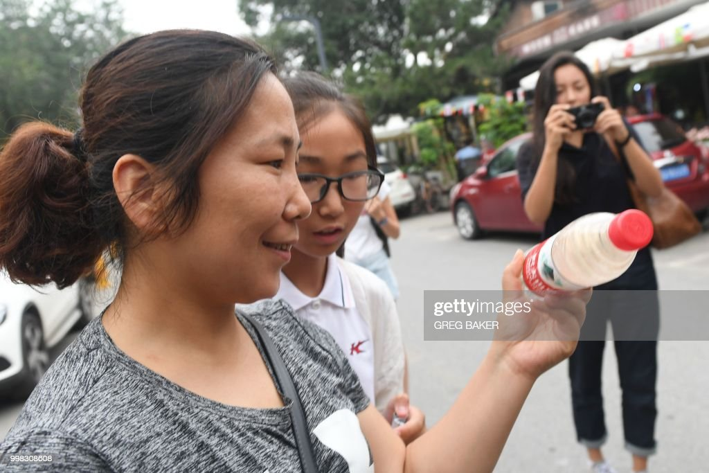 CHINA-EVIRONMENT-ART-WATER-POLLUTION : News Photo