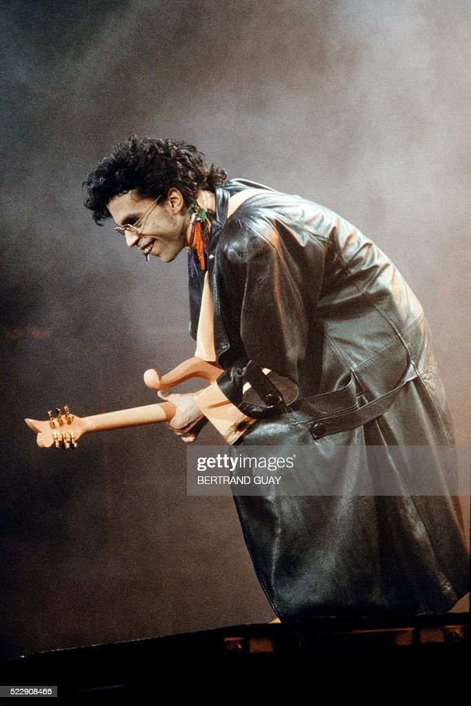 FRANCE-US-ENTERTAINMENT-MUSIC-PRINCE : News Photo