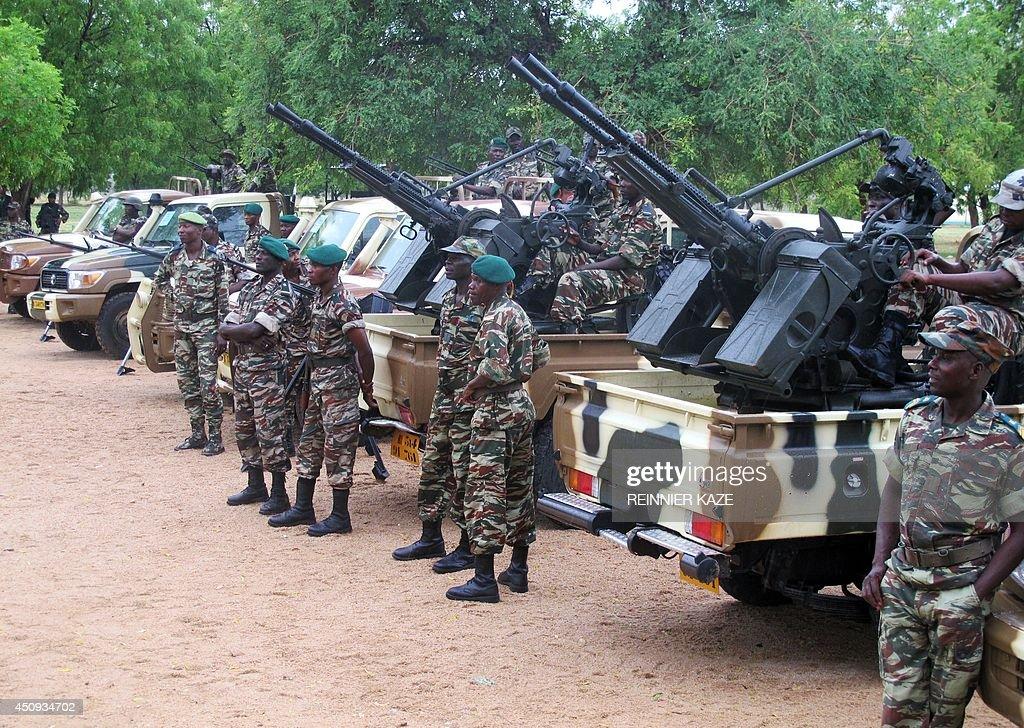 CAMEROON-NIGERIA-UNREST : News Photo