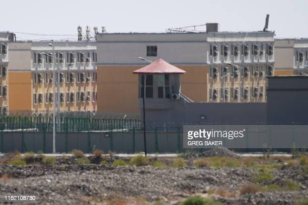 This photo taken on June 2 2019 shows buildings at the Artux City Vocational Skills Education Training Service Center believed to be a reeducation...