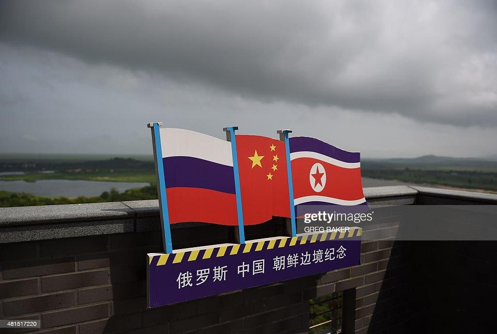 CHINA-NKOREA-RUSSIA-ECONOMY-DIPLOMACY : Fotografía de noticias