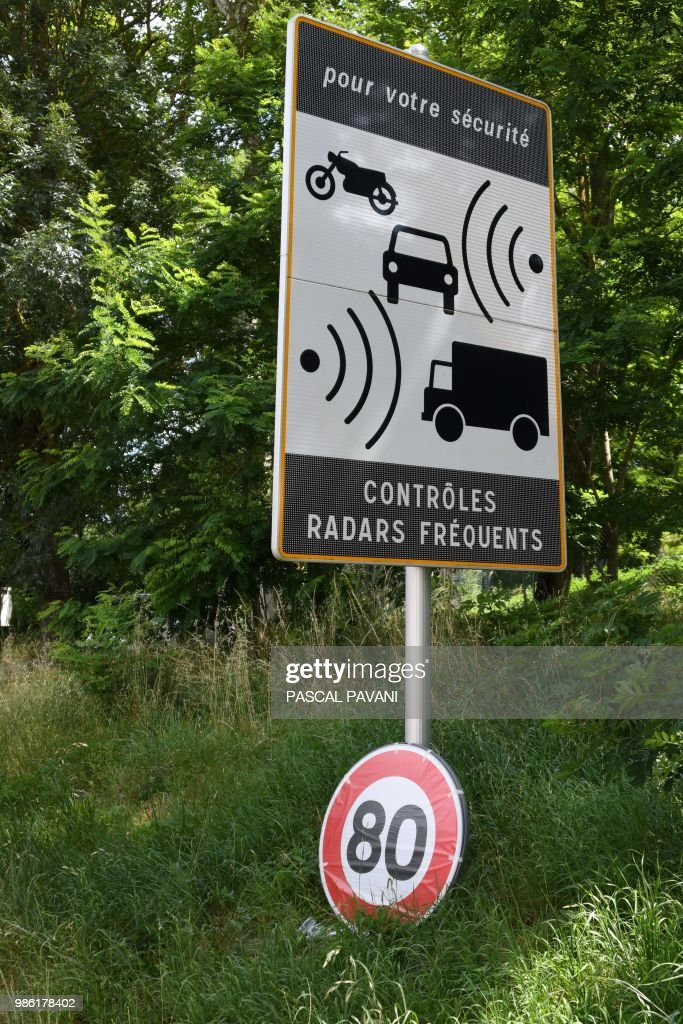 national speed limit france