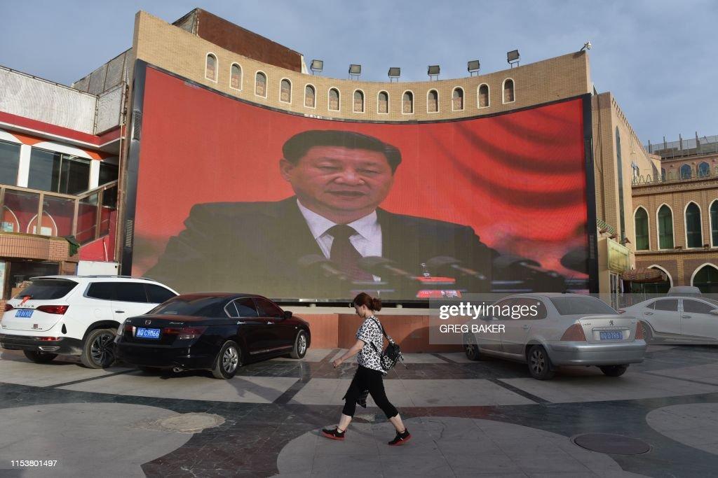 CHINA-RIGHTS-MINORITIES-XINJIANG : News Photo