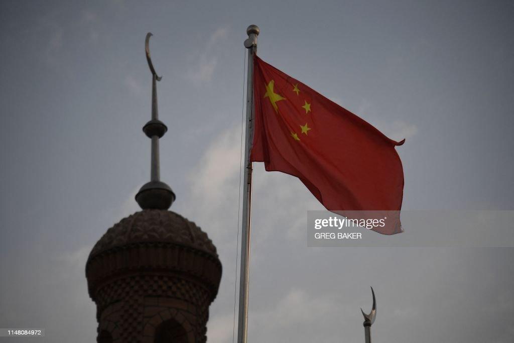 CHINA-POLITICS-RIGHTS-RELIGION-XINJIANG : News Photo
