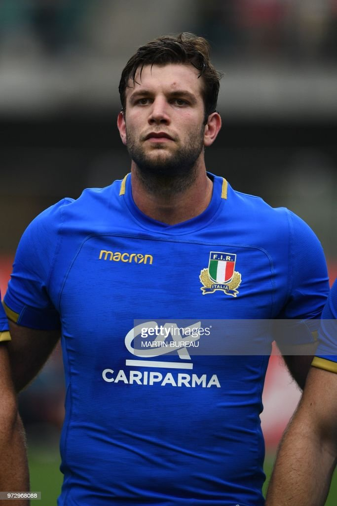 This photo taken on June 9, 2018 shows Italy\'s lock Marco Fuser ...