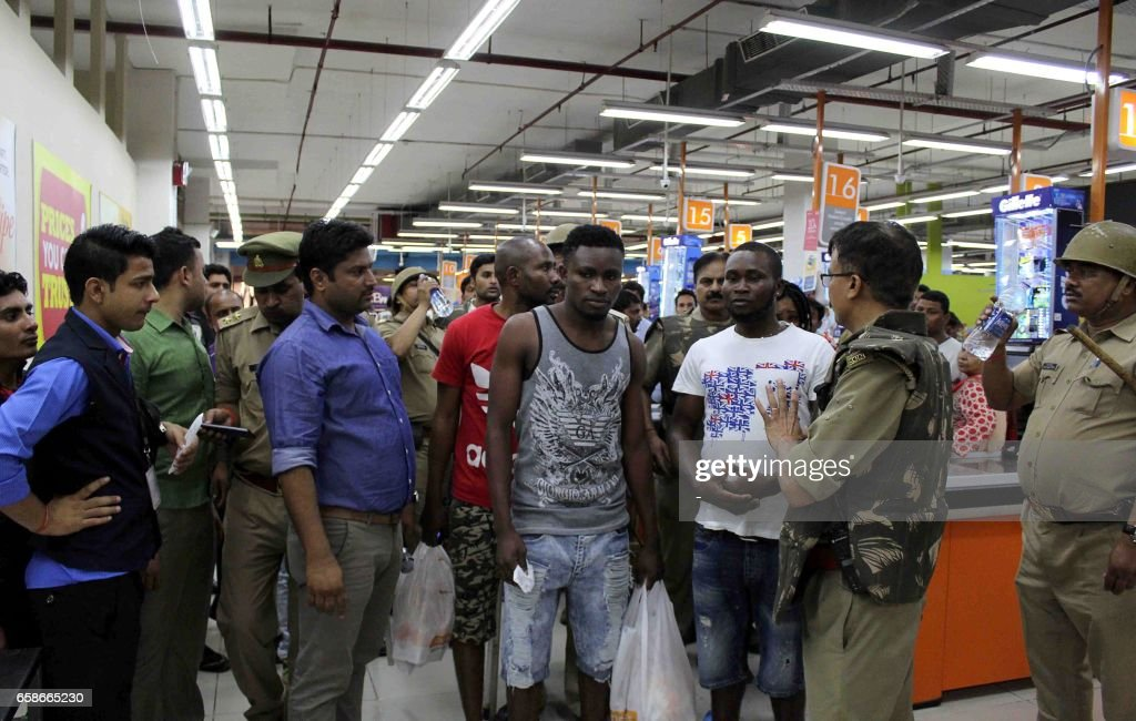 INDIA-CRIME-AFRICA-RACISM : ニュース写真
