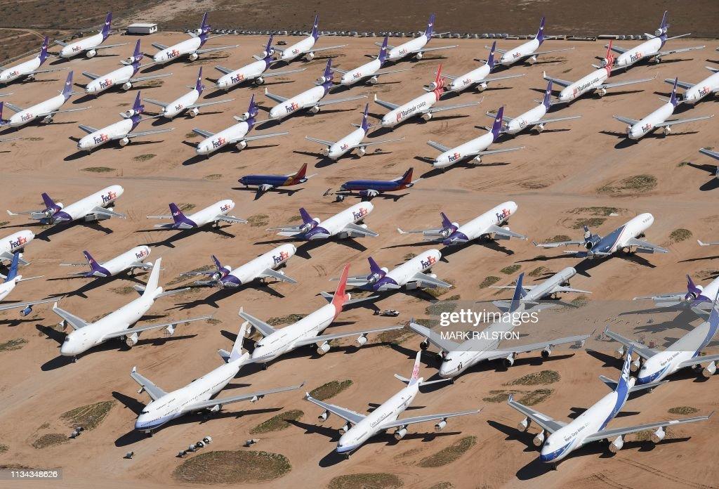 US-AVIATION-PLANE : News Photo