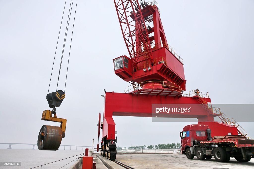 CHINA-ECONOMY : News Photo