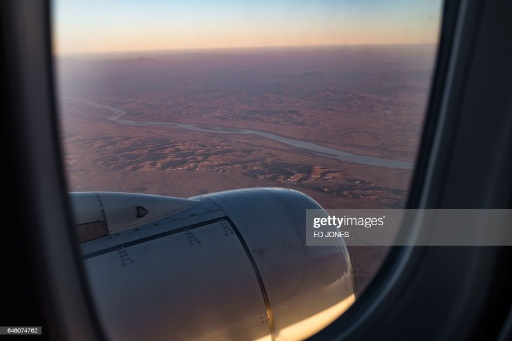 NKOREA-AVIATION-AIRLINE-AIR KORYO : News Photo