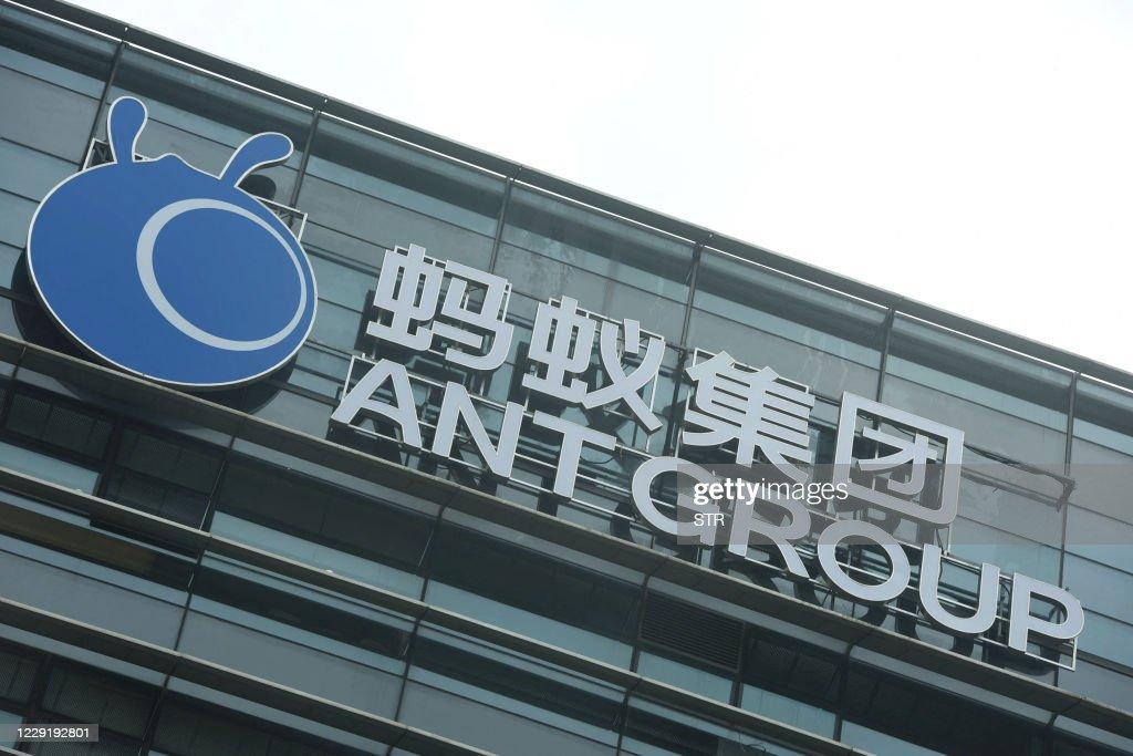 CHINA-HONG KONG-ECOMMERCE-ANTGROUP-IPO : News Photo