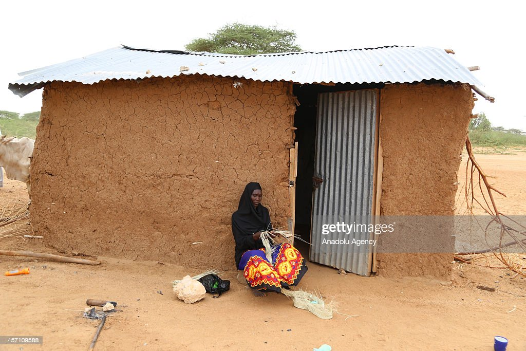 Tough living conditions at Dadaab refugee camp : News Photo