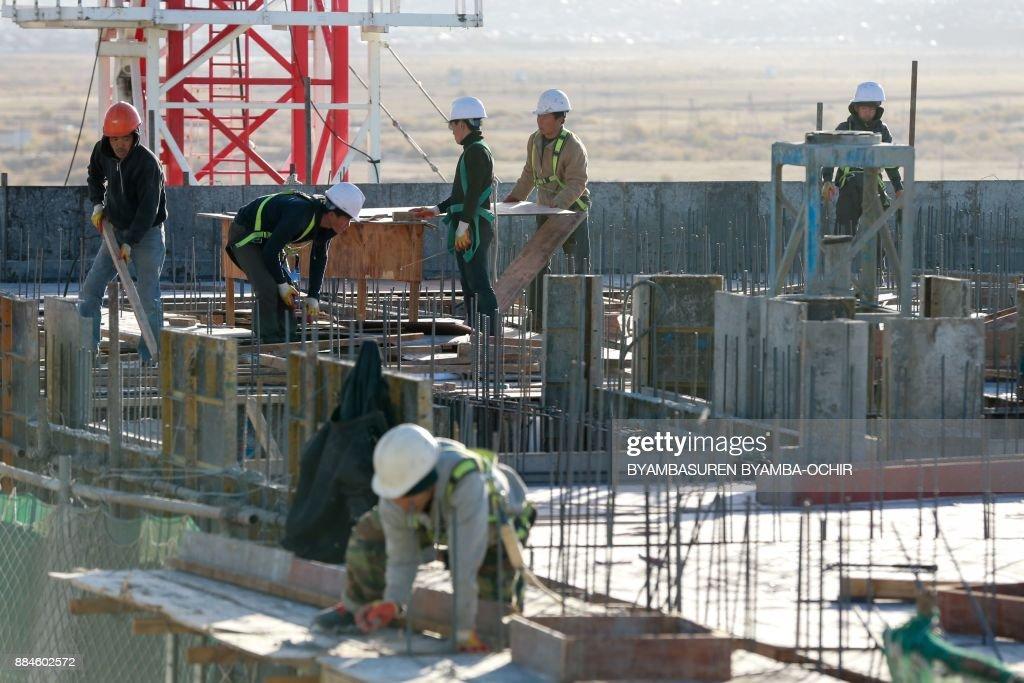 MONGOLIA-NKOREA-DIPLOMACY : News Photo
