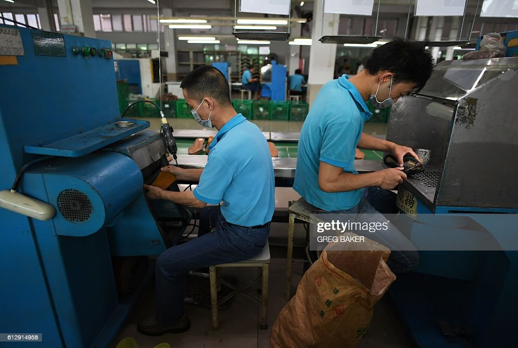 CHINA-US-VOTE-TRUMP-MANUFACTURING-EMPLOYMENT : News Photo