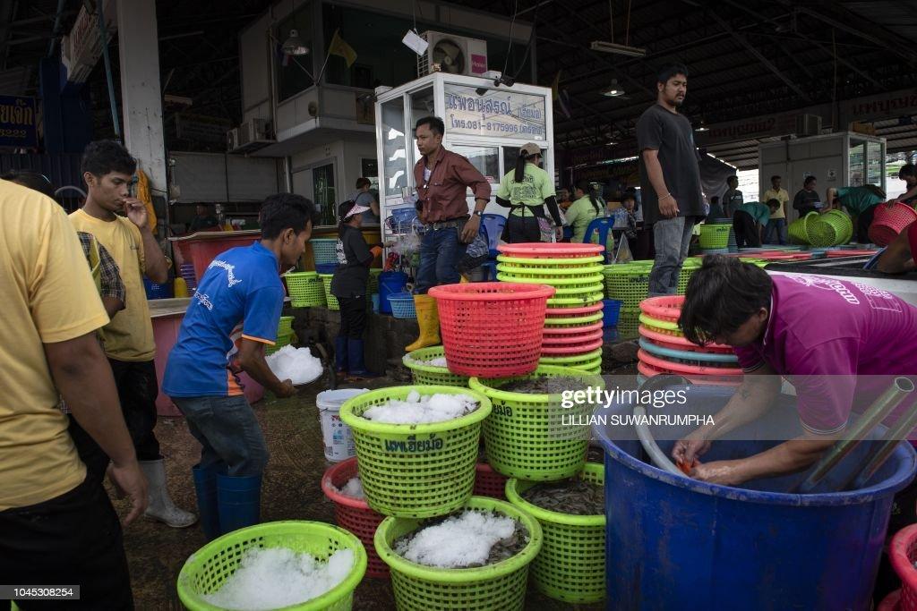 THAILAND-MYANMAR-MIGRATION-LABOUR-RIGHTS : News Photo