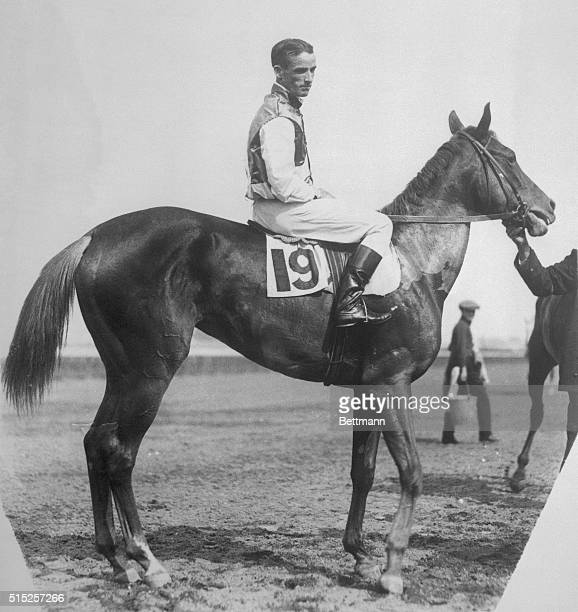 This photo was made in 1920 when the horse pictured the peerless Man O' War was completing his two year reign of 20 race victories as against but one...