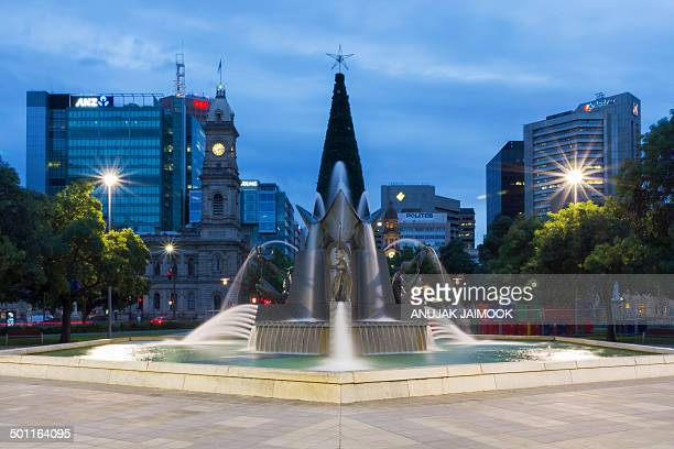 CONTENT] This photo was shot at twilight time at the center city of Adelaide South Australia Adelaide is the capital city of South Australia and the...