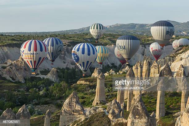 CONTENT] This photo was shot in the twilight time when i travel in Turkey Cappadocia which is unique in the world and is a miraculous nature wonder...
