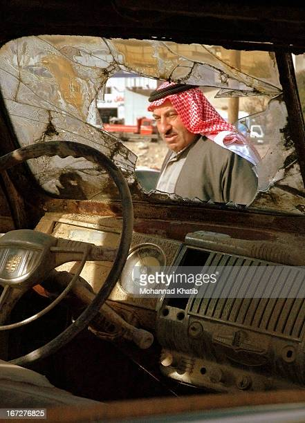 CONTENT] This photo was taken in a junk yard near the Jordanian town of Zarka north of the capital city Amman The yard had a number of rusty American...