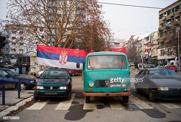 CONTENT] This photo was taken in northern Mitrovica in Kosovo The Serbs set up a defence line to avoid the Kosovo government force take control of...