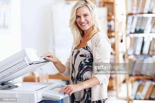 Ce photocopieur est si facile à utiliser.