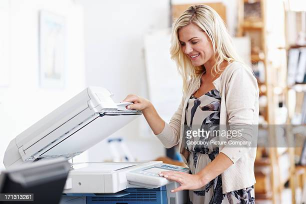 This photocopier makes life so much easier