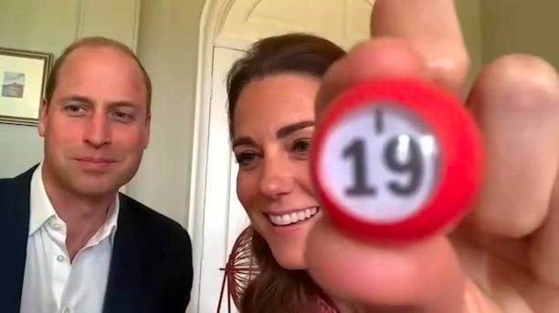 GBR: The Duke And Duchess Of Cambridge Thank Social Care Workers Across The UK