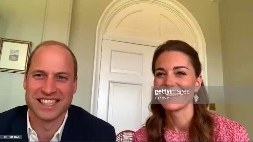 The Duke And Duchess Of Cambridge Thank Social Care Workers Across The UK : News Photo