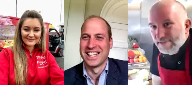 GBR: The Duke Of Cambridge Calls Scottish Charites