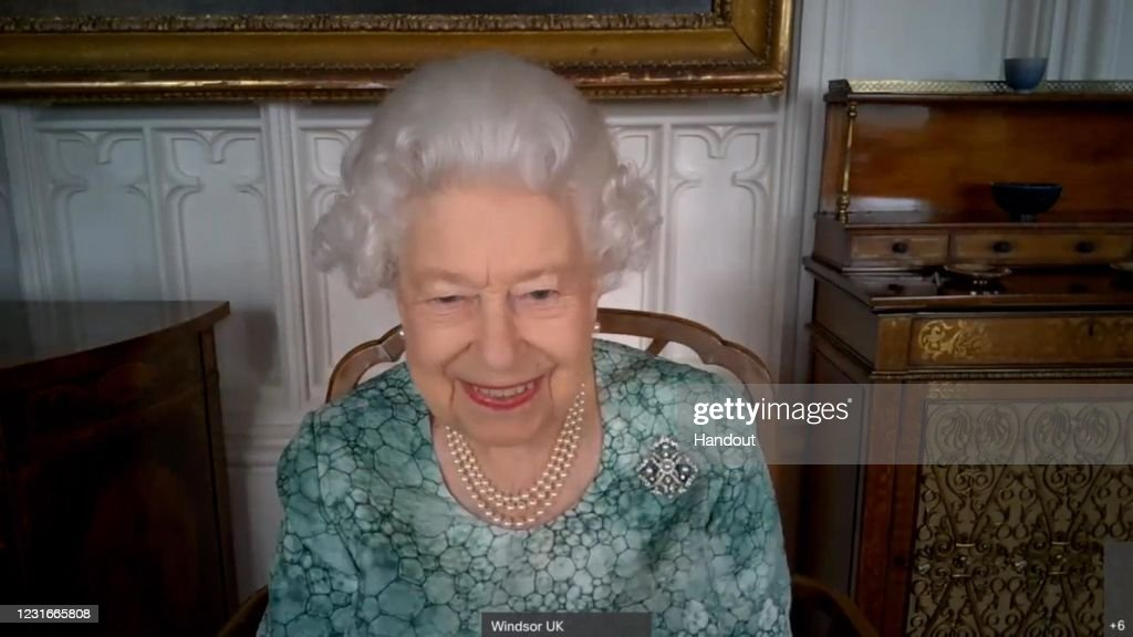 The Queen Marks British Science Week 2021 : News Photo