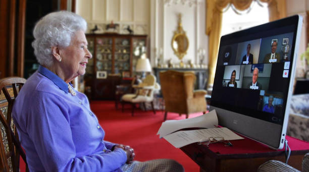 GBR: The Queen Speaks To The Royal Life Saving Society