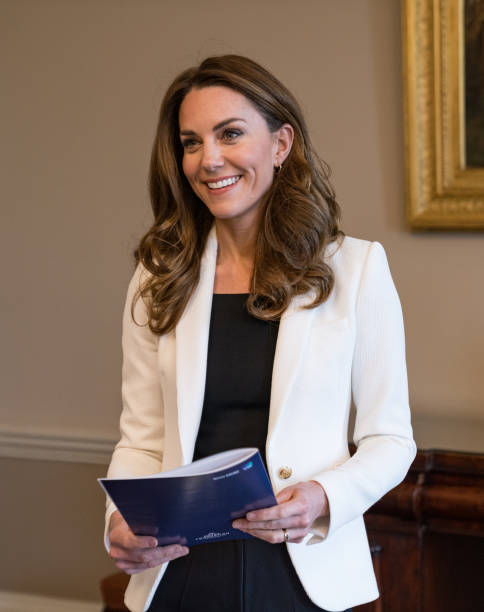 GBR: The Duchess Of Cambridge Unveils Findings Of Biggest Ever Study On The Early Years