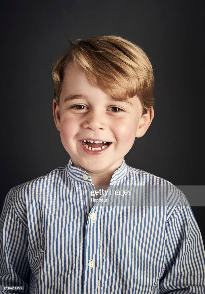 Prince George of Cambridge Turns 4 : News Photo