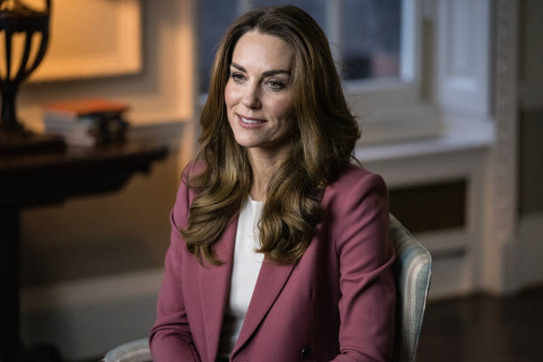 GBR: The Duchess Of Cambridge Gives Keynote Speech At The Royal Foundation's Forum On The Early Years